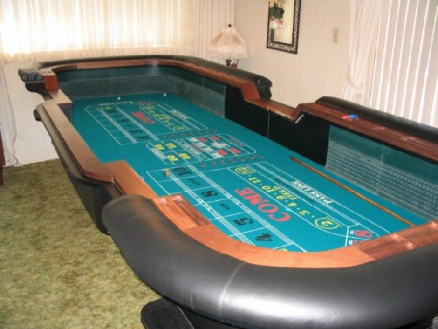 Craps table layouts for sale