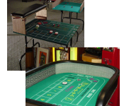 Craps Practice Table Photo