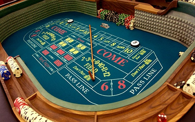 casino quality craps table for sale