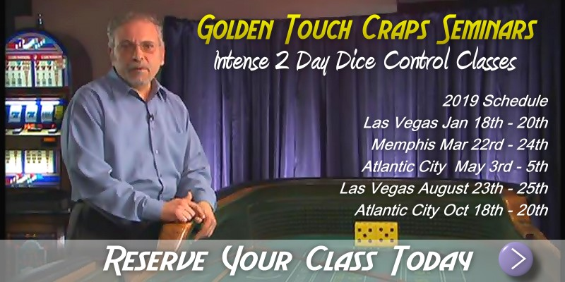 Craps Seminars by Golden Touch Craps