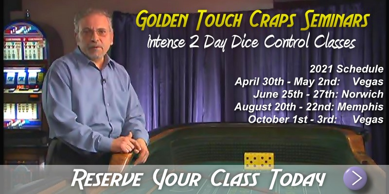 golden touch craps betting odds